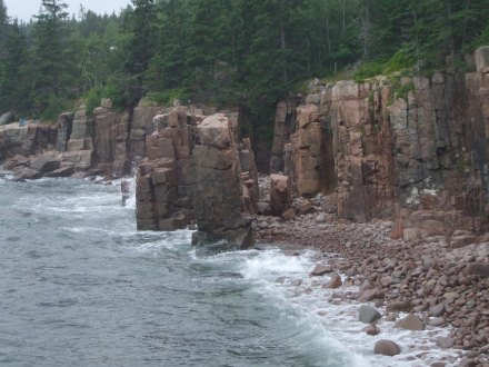 I took this while climbing on the rocks at Acadia National Park on my honeymoon in Maine, August 2011.  Amazing experience.