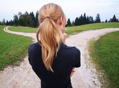 woman+deciding