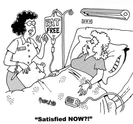 disatisffied patient