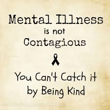 mental illness not contagious