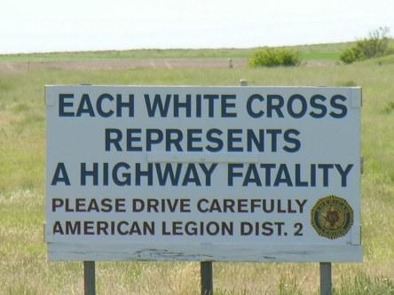 montana highway cross