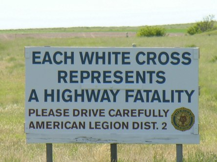 montana highway cross
