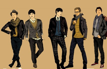 hipster male fashion