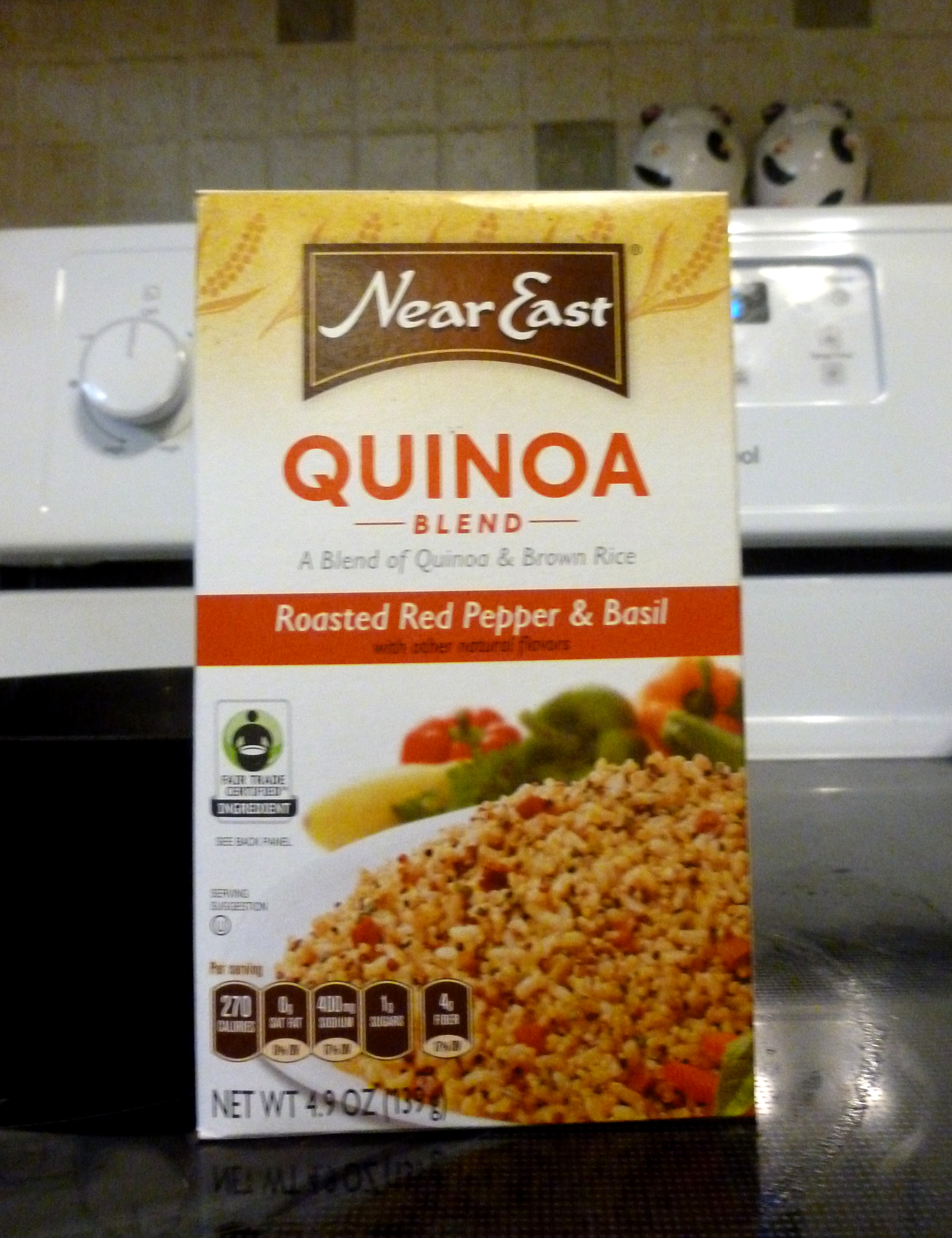 I Used This Kind That I Got At Kroger Which Is A Blend Of Quinoa & Brown  Rice Now That I Know I Love Quinoa,