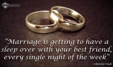 marriage best friend