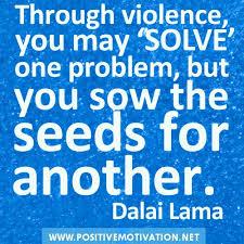 violence dalai lama