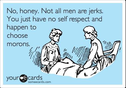 not all men are jerks
