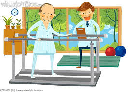 physical therapy cartoon