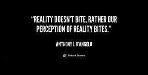 perception reality