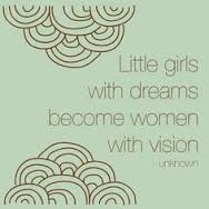 little girls with dreams