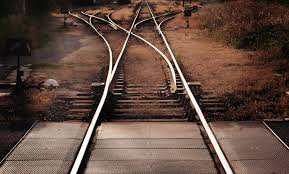 """Life is like a railway track: a bend of an inch & a distance of many miles.""  ~ rom ""Jab We Met"" (my favorite Hindi film)"