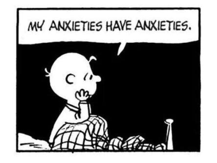 anxiety charlie brown