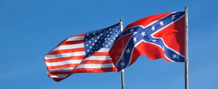Boggles my mind that these flags are still flying side by side in SC