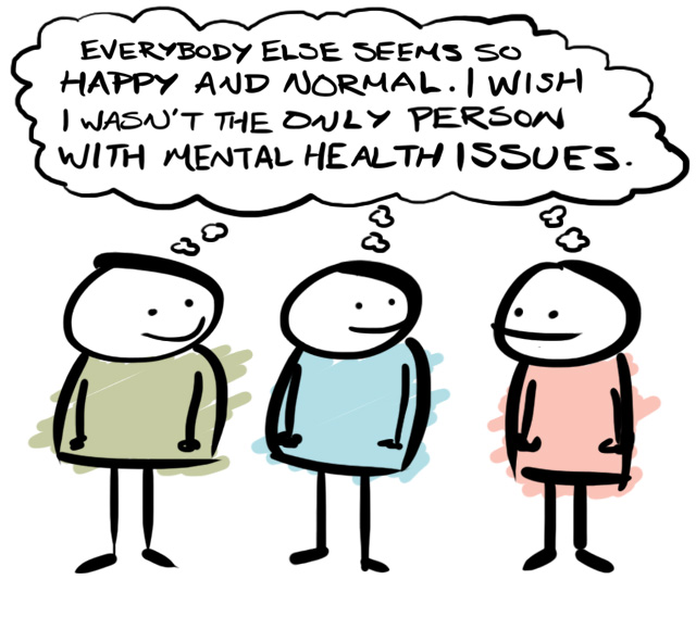 mental health cartoon