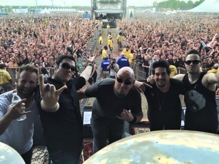 Evidence of the huge crowd BB drew at Carolina Rebellion this year