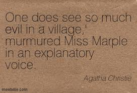 Miss Marple quote