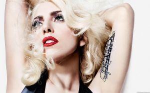 Lady Gaga Wallpaper @ go4celebrity.com