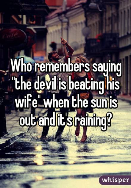 devil beating his wife