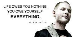 corey taylor owe yourself