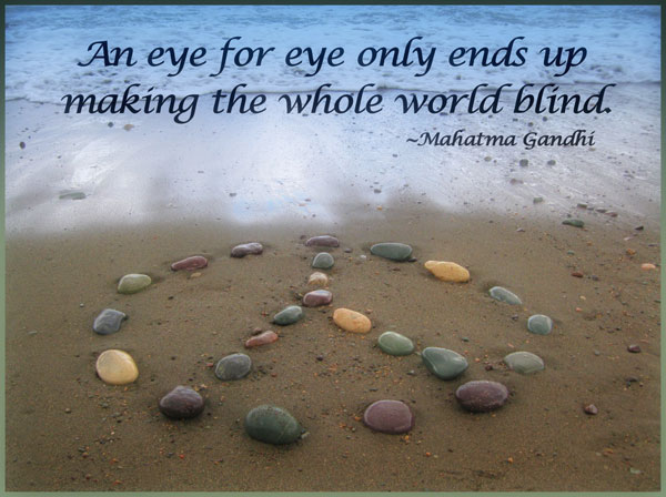 ghandi quote peace