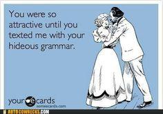 grammar hideous