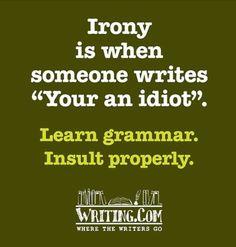 grammar insult