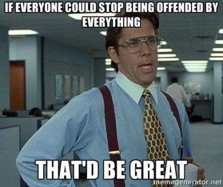offended meme
