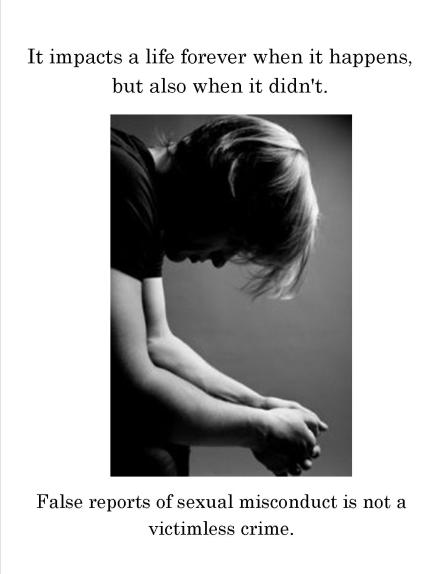 false rape claim