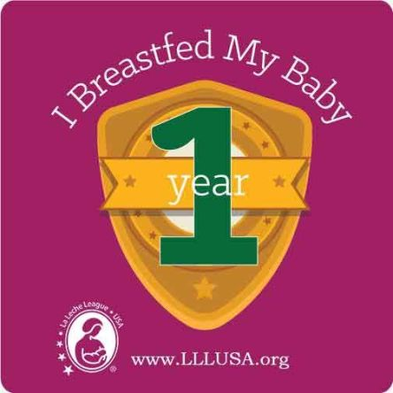 lll 1 year badge
