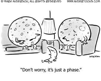 phase moon cartoon