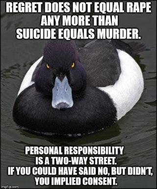 regret does not equal rape