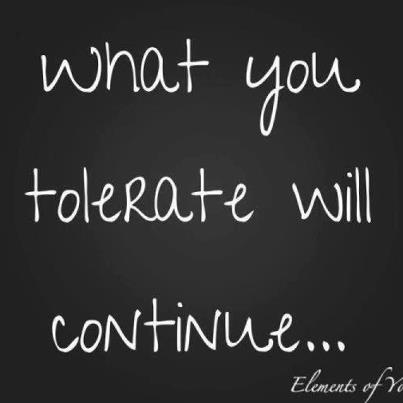 tolerate quote