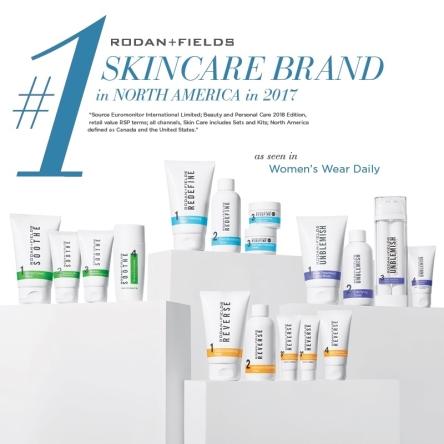 Euromonitor #1 Skincare Brand in North America
