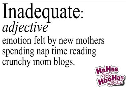 inadequate mom