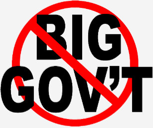 no more big govt