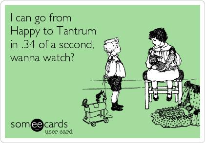 tantrum